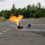 Feuerlöscher Schulung