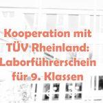 Kooperation mit TÜV Rheinland